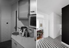 Antes e Depois - despensa vs lavandaria